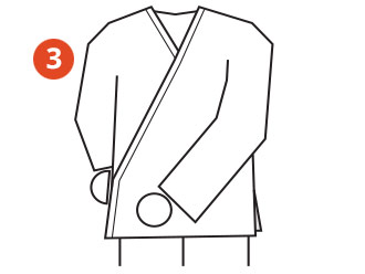 Belt Tying Step 3