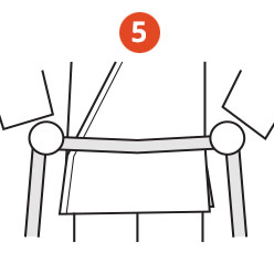 Belt Tying Step 5