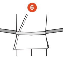 Belt Tying Step 6
