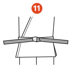 Belt Tying Step 11